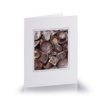 Greeting cards - Chinese silver ingots and copper cash coins