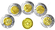 The Five Blessings Commemorative Coin Set, February 2002