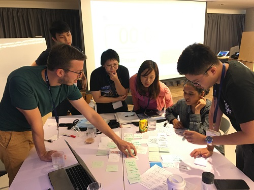 At the inaugural startup bootcamp organised by the MIT Hong Kong Innovation Node, known as the MIT Entrepreneurship and FinTech Integrator, students rack their brains to come up with innovative and practical startup plans.