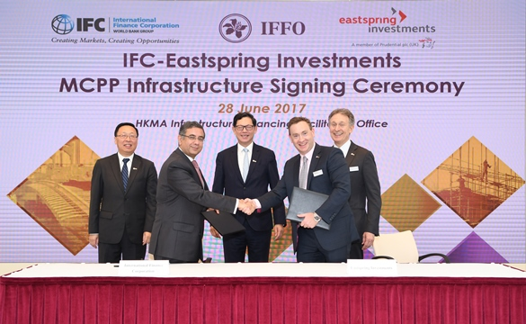 Hong kong monetary authority ifc raises us 500 million from prudential s eastspring for - Chief infrastructure officer ...