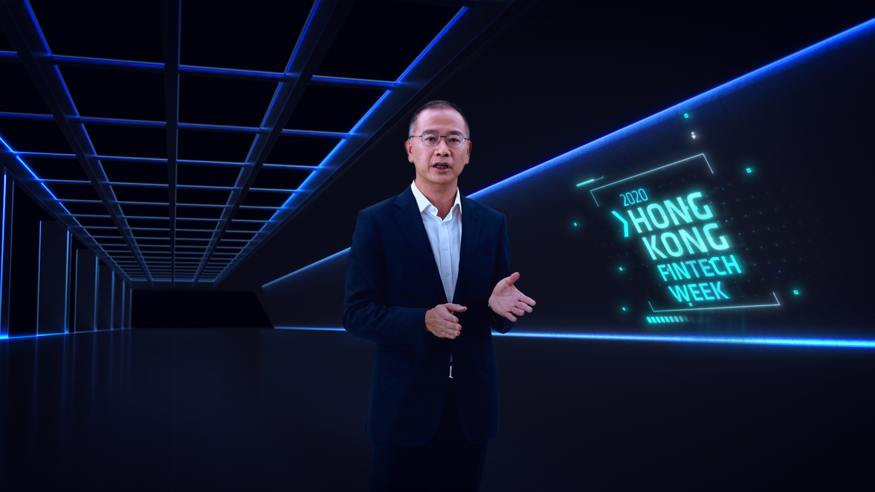 Mr Eddie Yue, Chief Executive of the HKMA, delivers an opening keynote at virtual Hong Kong FinTech Week 2020 about Hong Kong's fintech strategy in the future. Click here to watch the video.